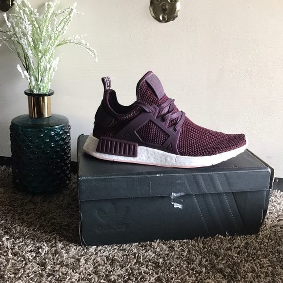 Women s Adidas Burgundy NMD XR1 size US 8  UK 6.5 9bb749c7a2